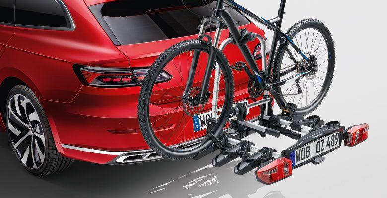 Nosič jízdních kol na tažné zařízení Compact III